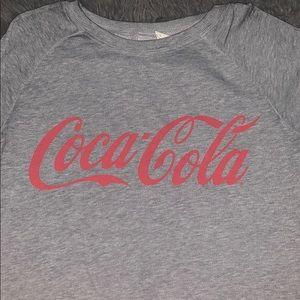 Long sleeve Coca Cola shirt